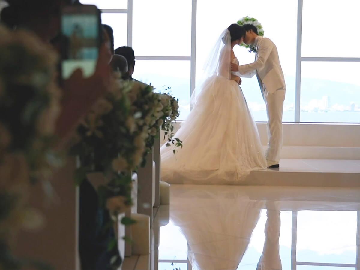 ライブエンドロール(結婚式当日上映)